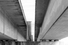De beide spoorbruggen over de IJssel bij Westervoort TKF8265